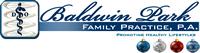 Baldwin Park Physician Logo, D.O.
